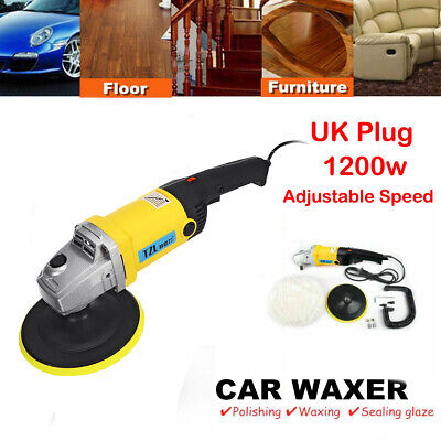 "6"" 1200W Variable Speed Electric Polishing Buffing Waxing Machine Car Polisher"