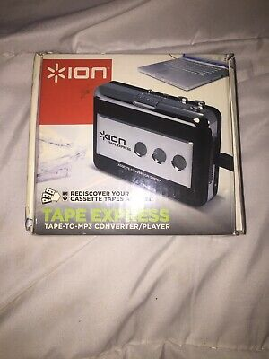 Genuine Ion Tape Express Tape To MP3 Converter In Box