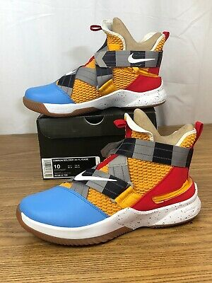 3e237228e24 NEW Nike LeBron Soldier XII FlyEase Size 10 Disney Toy Story Woody Edition  🏀