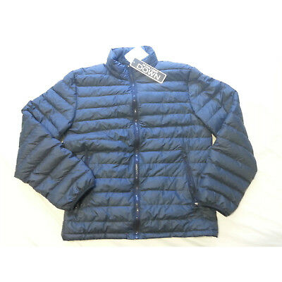 dc592c0b7 Weatherproof 32 Degrees Heat Men Size S Down Jacket Blue Packable 611 Fill  Power