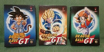 Dragon ball Gt Serie Completa 3 Box Yamato video