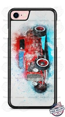 Vintage Classic Hot Rod Car Phone Case for iPhone Samsung LG Google Pixel etc