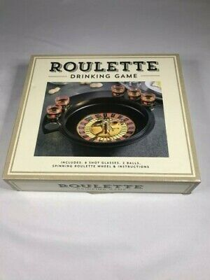 Roulette - Drinking Game Set (2 Balls and 6 Shot Glasses) Casino