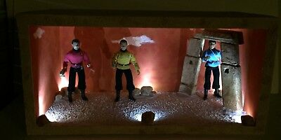 """Custom STAR TREK DIORAMA for 8"""" inch MEGO FIGURES ALIEN PLANET FIGS NOT INCLUDED"""