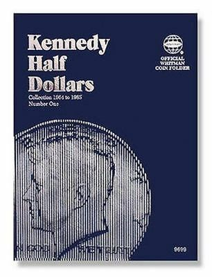 Coin Folders Half Dollars : Kennedy 1964-1985 by Whitman Staff (1990, Hardcover)