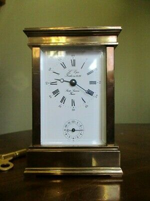 L'epee Angelus Carriage Clock