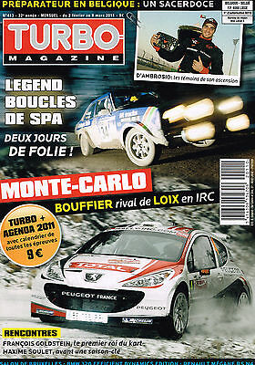 Turbo Magazine N° 413  2  Fevrier  2011