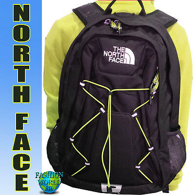 79b70008d THE NORTH FACE Jester Laptop Backpack School Bag Black/Yellow
