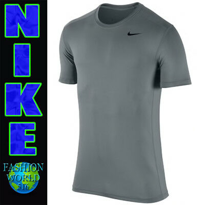 8e631687 Nike Pro Men's Size Large Base Layer Fitted Training Top Gray 728053-065 NWT