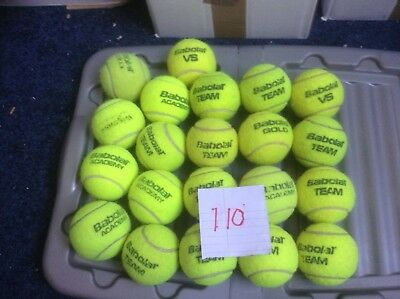 20 Tennis balls babolat used indoors only.