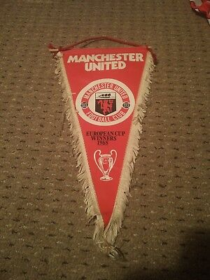 "No.7 MANCHESTER UNITED VINTAGE 1991 EUROPEAN CUP WINNERS CUP ADULTS M 38""-40"""