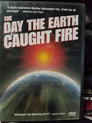"""""""The Day the Earth Caught Fire"""" (Anchor Bay DVD, 2001) OOP - SF Doomsday classic"""