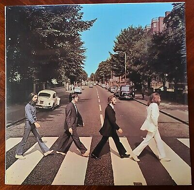 THE BEATLES ABBEY ROAD 1969  SO-383 1st US PRESS VERSION #2 COVER FACTORY SEALED