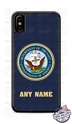 Custom US Navy Military Personalize Phone Case Cover fits iPhone Samsung etc