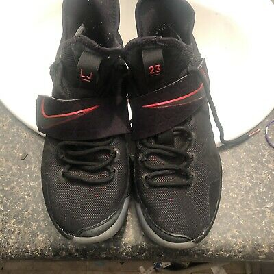 new arrival ff945 a2bb2 Nike Men s Lebron 14 XIV Bred University Red 852405 004 Size 9