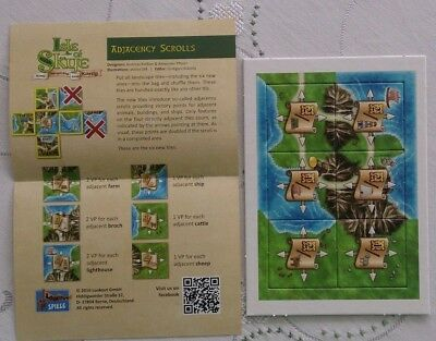 Isle of Skye - Adjacency Scrolls - Promo Expansion - New