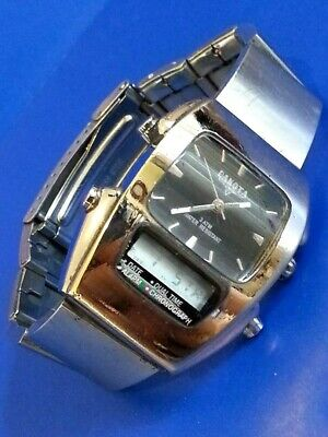 Vintage Dakota Watch Company 100Ft Water Resistant 1 Micron Pnp Solid Brass Case