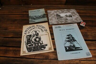 5 X Books History of the Railways Tramways Steam Engine Train Dogspike Lens