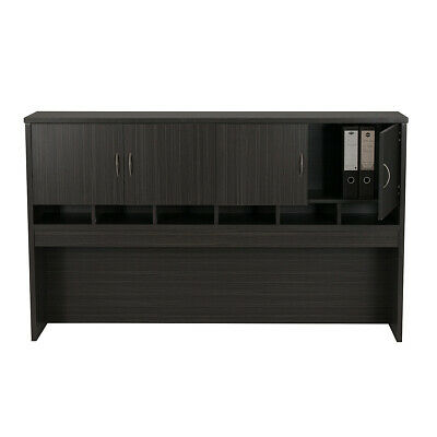 Office Desk Pigeon Hole Hutch with cupboards doors Buffet Hutch Office Furniture