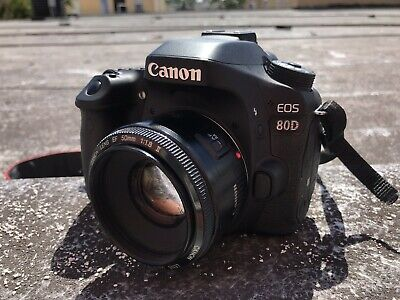 Canon EOS 80D 24.2MP With 50mm Lens