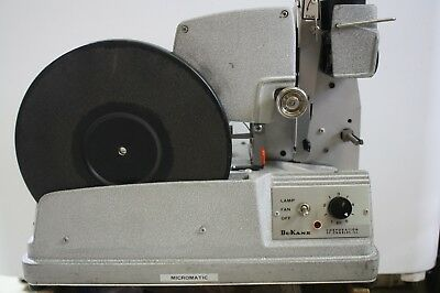 DuKane Micromatic 14A390E Film Strip Projector Record Player Vintage 50's/60's