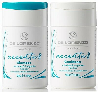 Delorenzo Accentu8 Shampoo 90 Ml And Conditioner 90 Ml De Lorenzo