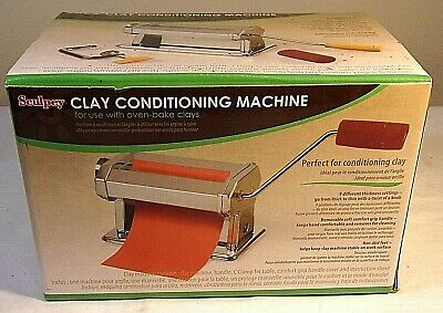 Sculpey Clay Conditioning Machine For Oven Baked Clay - New In Box - Free Ship