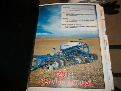Kinze 2600 Owners Manual