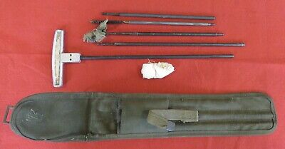 Original WW2 US M1 Cleaning Kit and Pouch—1945