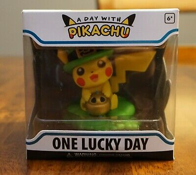 Funko Figure Pokemon A Day With Pikachu One Lucky Charm Vinyl Actual Pics