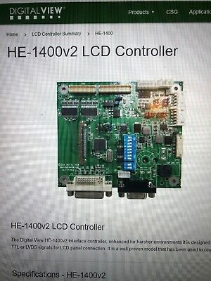 NEW HE-1400v2 DIGITAL VIEW INTERFACE CONTROLLER 4175801XX-3