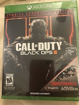 SEALED Call of Duty: Black Ops III Zombies Chronicles Edition - Xbox One