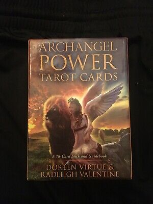Archangel Power Tarot Cards 78 card Deck with Guidebook