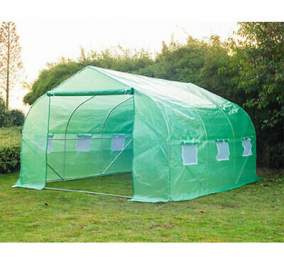 Greenhouse 12'10'7' Large Portable Walk-in Hot Green House Plant Gardening