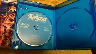 Avengers: Infinity War 2D Bluray (See Description)