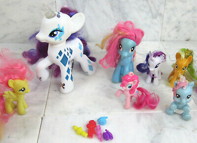 MY LITTLE PONY G2 G3 G3 5 G4 McDonald lot of 15 figures