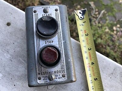 Westinghouse motor control start stop buttons SD-2  1246484