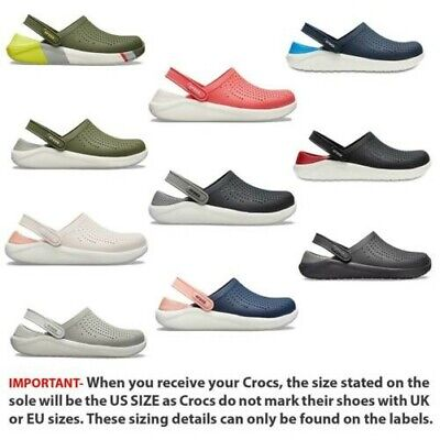73bb93cd2a3 NEW CROCS LITE Ride Relaxed Fit Clog Shoes Sandals Pearl White White ...