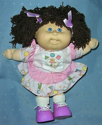 1990 Hasbro Cabbage Patch Doll - Tongue, Teeth, Shoes Pretty Pink CPK Outfit