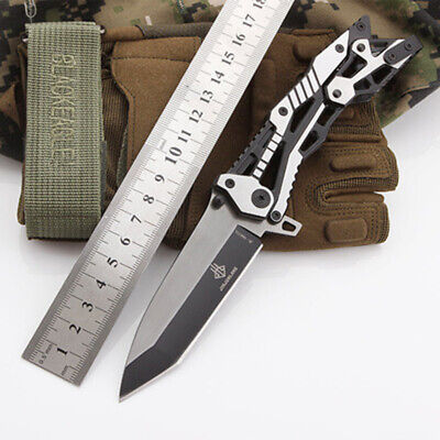 Tactical Survival Folding Blade Knife Knives Pocket Camping Hunting Outdoor Tool