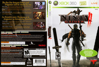 Ninja Gaiden Ii Covers Xbox 360 Prima Official Strategy Game 2 Guide 7 14 Picclick