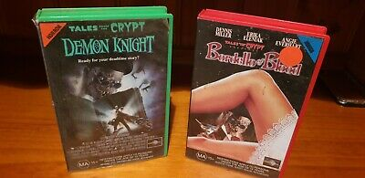 Tales From The Crypt: Bordello Of Blood & Demon Knight VHS Horror