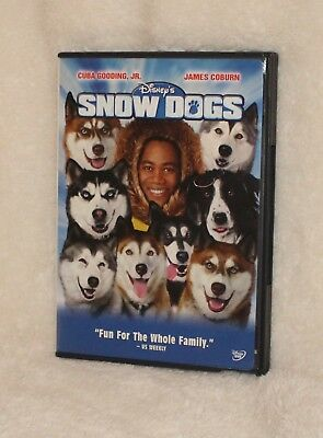 Snow Dogs DVD Cuba Gooding Jr James Coburn Movie (tk)