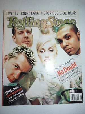 ROLLING STONE MAGAZINE US #759 may 1 1997 No Doubt