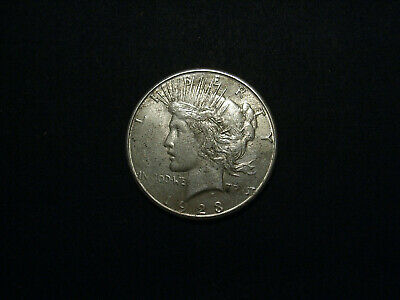 US Peace Dollar 1923-S in XF40