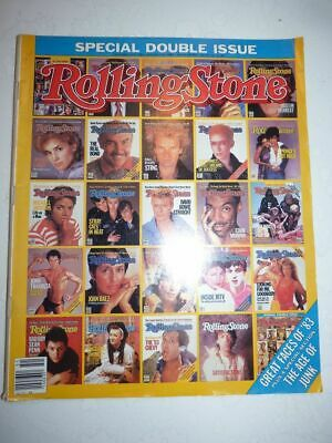 ROLLING STONE MAGAZINE US #411/412 december 22 1983 Great Faces of '83