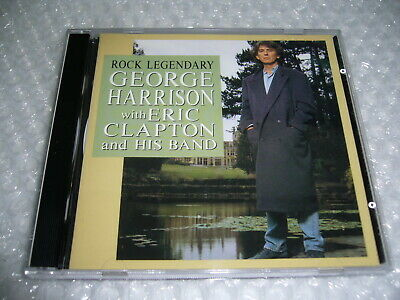 GEORGE HARRISON with ERIC CLAPTON and his band - Rock Legendary Japan 2CD 1991