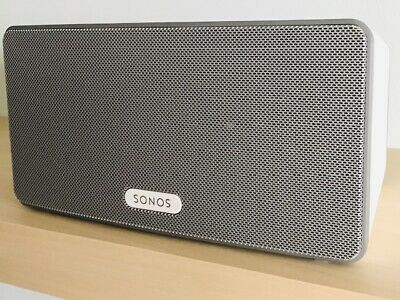 SONOS PLAY:3 Wireless Smart Sound Multi-Room Speaker - White, Pristine condition