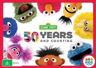 Sesame Street - 50th Anniversary Edition Collection (DVD, 4-Disc Set) NEW
