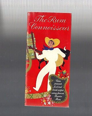 Collectible Vintage 1944 The Rum Connoisseur RONRICO Cocktail Recipe Booklet